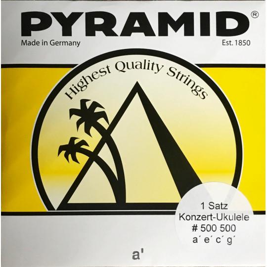 Pyramid struny na koncertní ukulele nylon