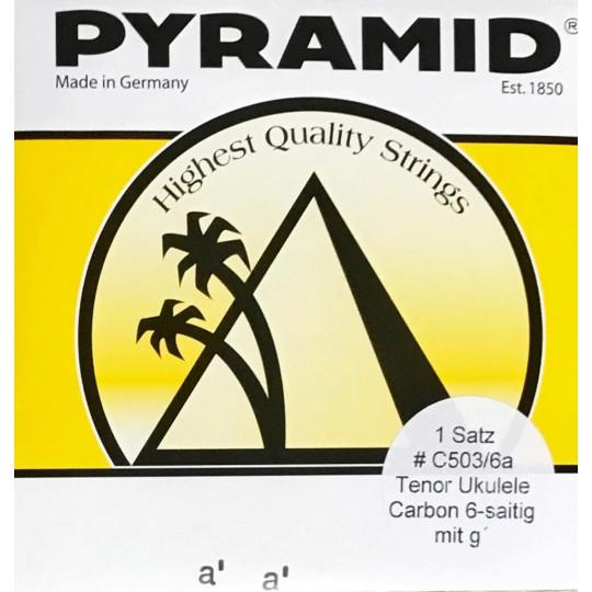 Pyramid struny na tenorové ukulele nylon carbon