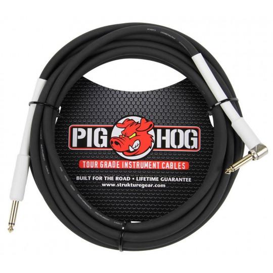 Pig Hog PH186R nástrojový kabel 5,5 m lomený