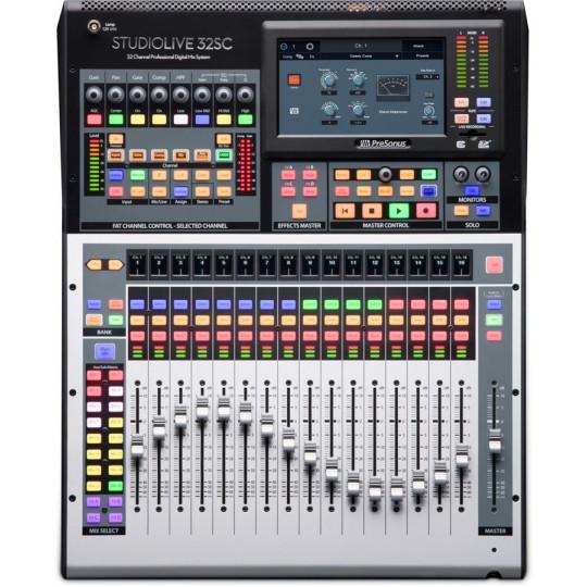 PreSonus StudioLive 32SC digitální mixpult