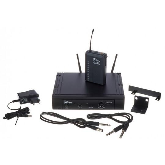 The t.bone TWS16PT 863Mhz  bezdrátový mikrofonní set