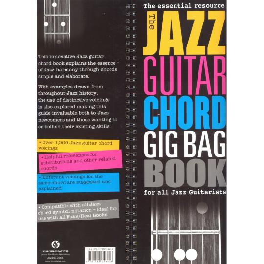 Jazz Guitar Chord Gig Bag Book -  Jazzové akordy pro kytaru - více než 1000 akordů
