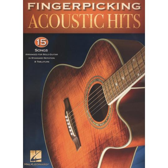 Fingerpicking ACOUSTIC HITS / zpěv, kytara + tabulatura