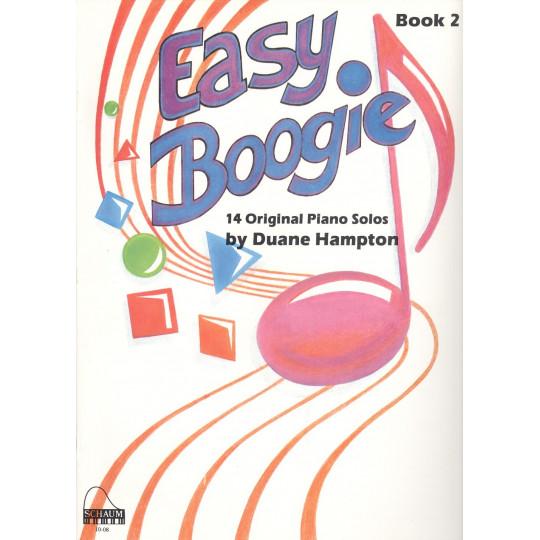 Easy Boogie Book 2 / 14 originálních skladbiček pro klavír