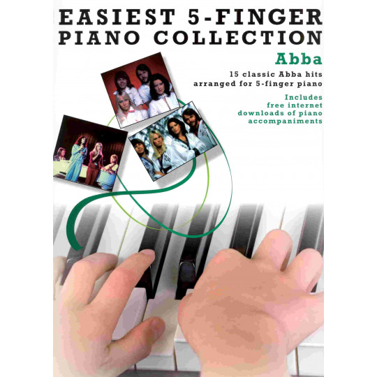 ABBA - easiest 5-finger piano collection