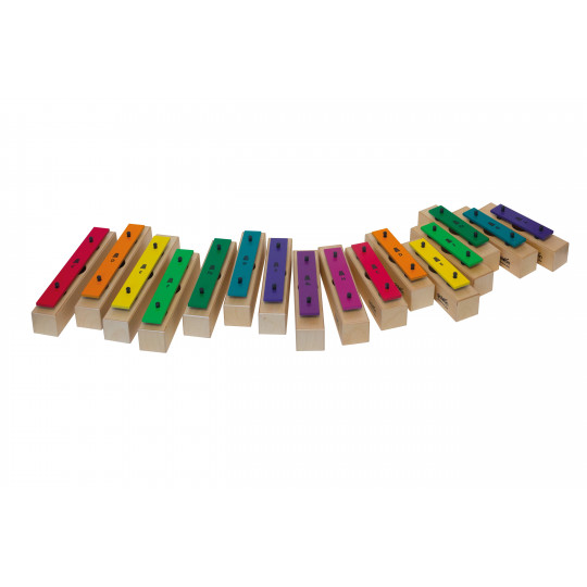 Goldon jednotlivé kameny sopránové v barvě Boomwhackers