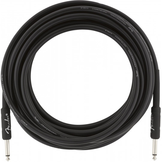 Fender Professional series instrument cable straight 18,6ft