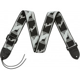 Fender MONO STRAP - BLK/LT GREY/DK.GREY