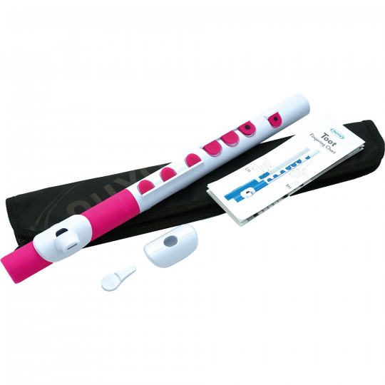 NUVO TooT 2.0 White/Pink with keys