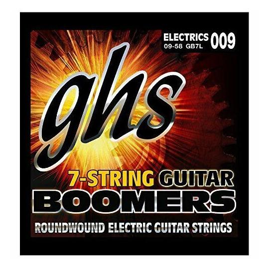GHS GB7L SET - sada strun pro 7-strunnou kytaru