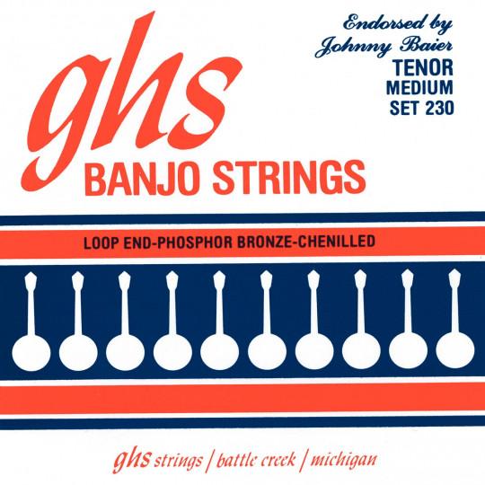 GHS SET 230 medium - sada strun pro banjo