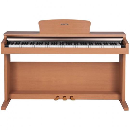Sencor SDP-100 OAK - digitální piano - barva dub