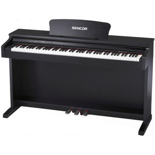 Sencor SDP-200 BK - digitální piano - barva černá