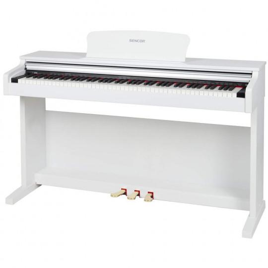 Sencor SDP-200 WH - digitální piano - barva bílá
