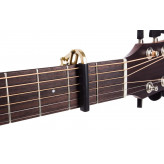 SHUBB C1b - kapodastr na akustickou a elektrickou kytaru - barva mosaz