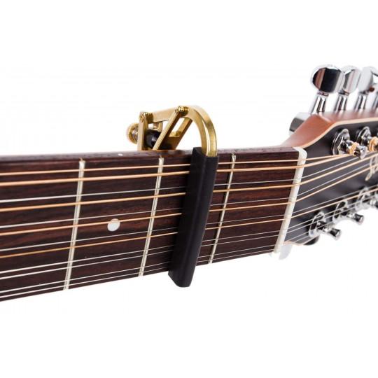 SHUBB C3b - kapodastr na 12-strunnou kytaru - barva mosaz