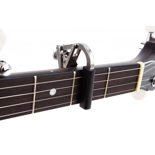 SHUBB S5 - kapodastr řady DELUXE na banjo