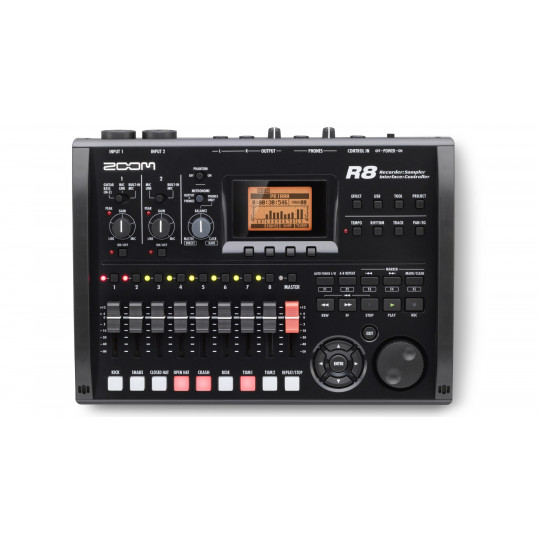 ZOOM R8 - Recorder, Interface, Controller, Sampler