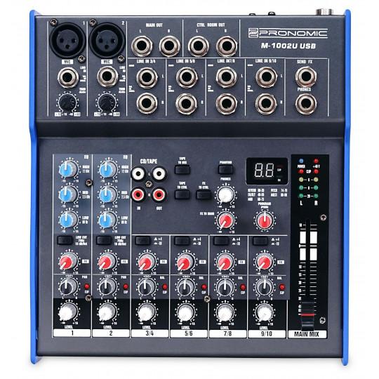 Pronomic M-1002UD USB Mix s efektem
