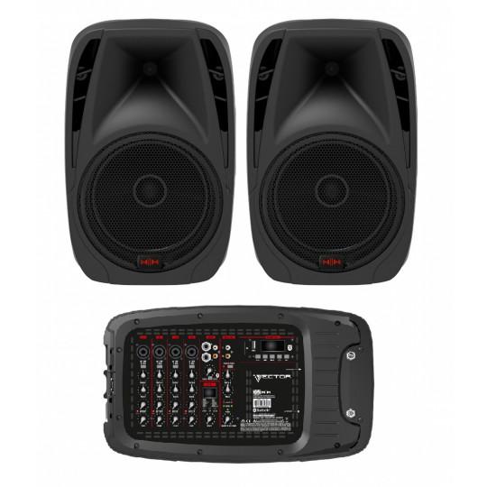 H|H Electronics VRC-210 přenosný ozvučovací systém