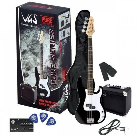 GEWApure E-bas vgs RCB-100 Baskytarový set 3-Tone Sunburst