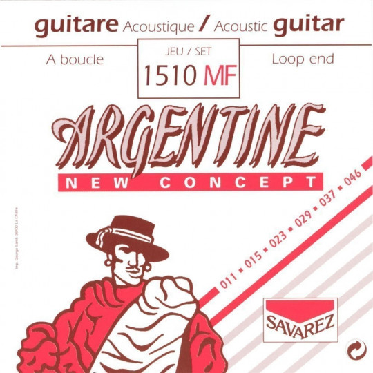 Savarez struny pro akustickou kytaru Argentine Sada 1510MF
