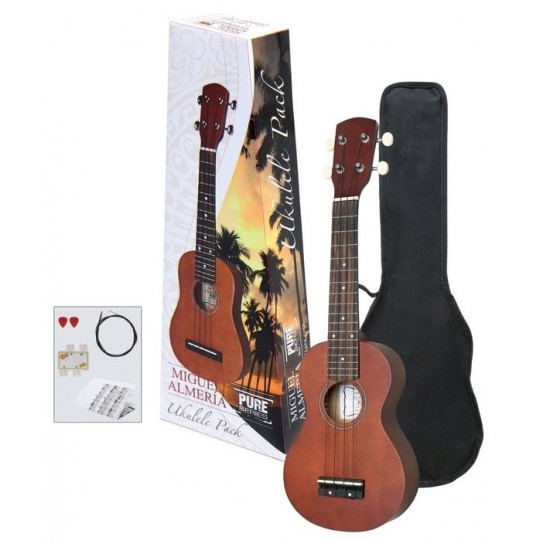 GEWApure Ukulele Almeria Player - set