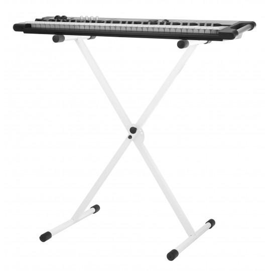 Proline klávesový stojan jednoduchý – bílý