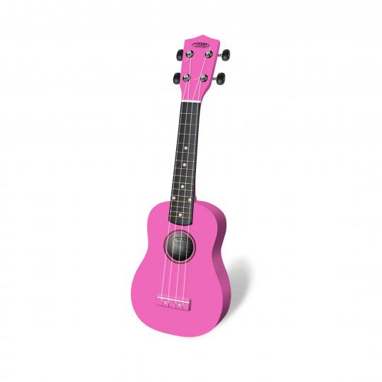 Classic Cantabile US-100 PK sopranové ukulele růžové