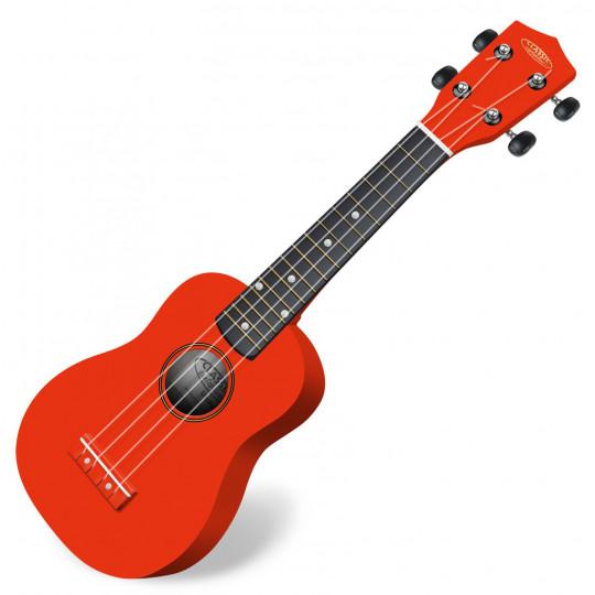 Classic Cantabile US-100 RD sopránové ukulele červené