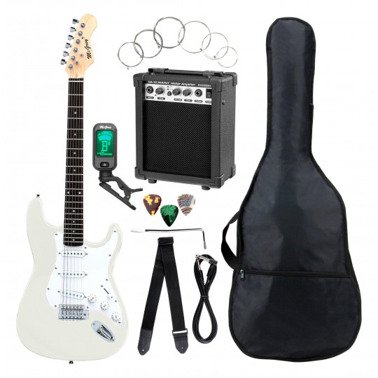 McGrey Rockit ST-Complete White - kytarový set