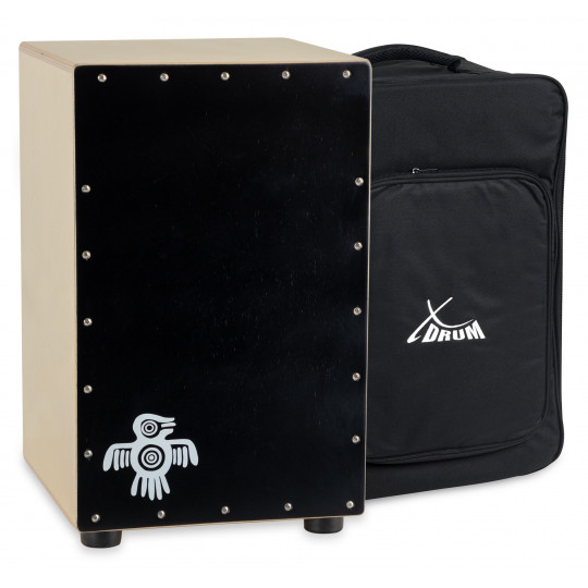 Peruana Cajon Black Wood