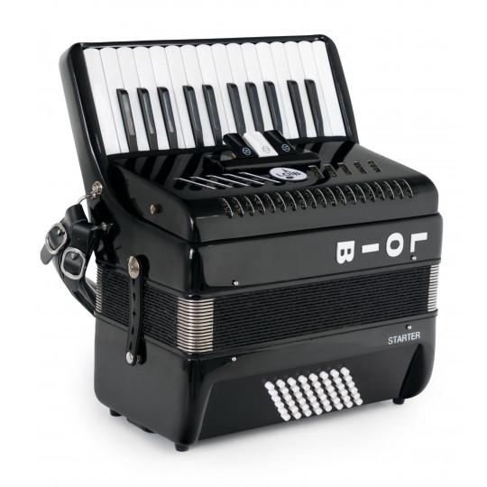 Loib Starter II 48 BK akordeon černý