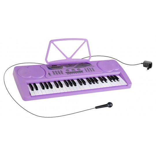 McGrey BK-4910VT dětské klávesy fialové