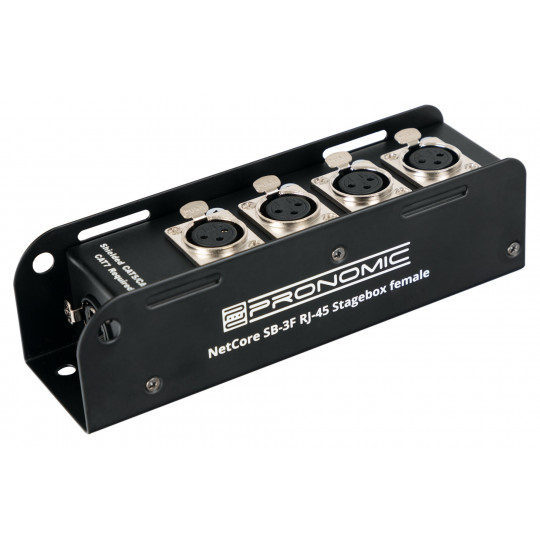 Pronomic NetCore SB-3F Multicore-Stagebox female