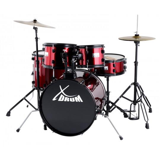 "XDrum Rookie 20"" Studio Set Ruby Red"