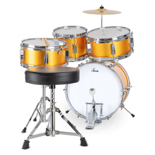 XDrum Junior Sunset Gold Sparkle dětská bicí sada