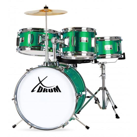 XDrum Junior Emerald Green Sparkle dětská bicí sada