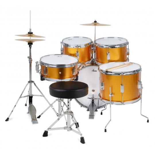 XDrum Junior Pro Sunset Gold Sparkle dětská bicí sada