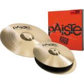 "PAISTE 201 Bronze set 14"" hi-hat, 18"" crash"