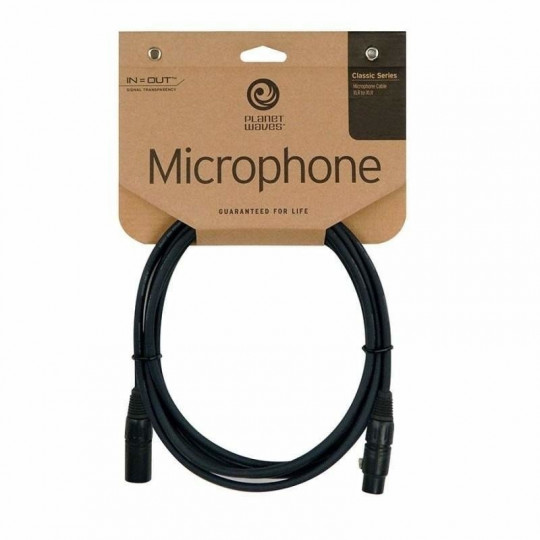 PLANET WAVES PW-CMIC-10 mikrofonní kabel XLR/XLR - 3m
