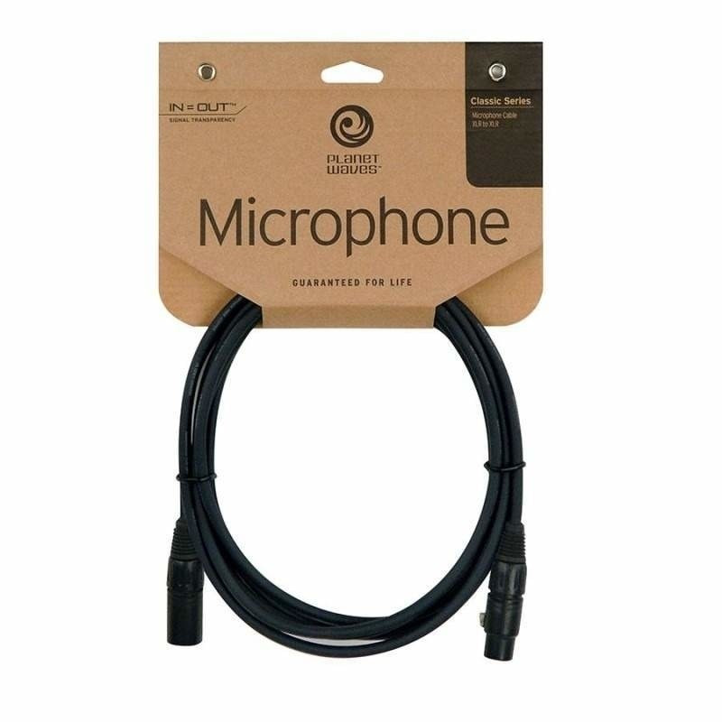PLANET WAVES PW-CMIC-10 mikrofonní kabel XLR/XLR - 3m
