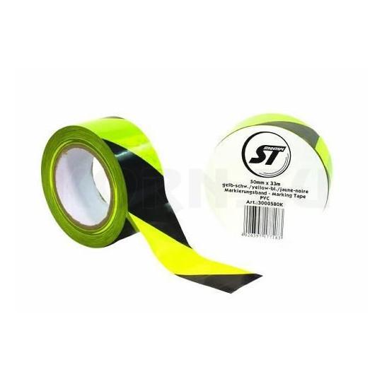 Stagetape PVC žlutá/černá