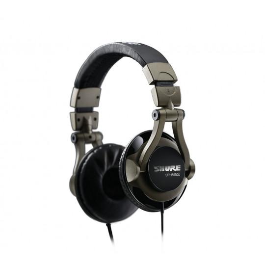 """SHURE SRH550DJ - profesionální """"DJ"""" sluchátka"""