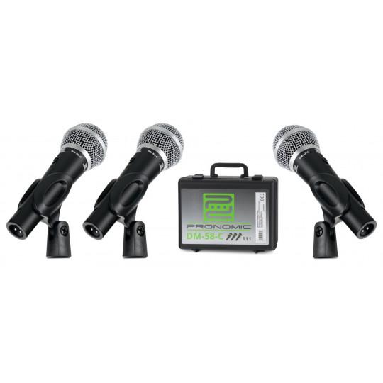 Pronomic DM-58-C mikrofonní set