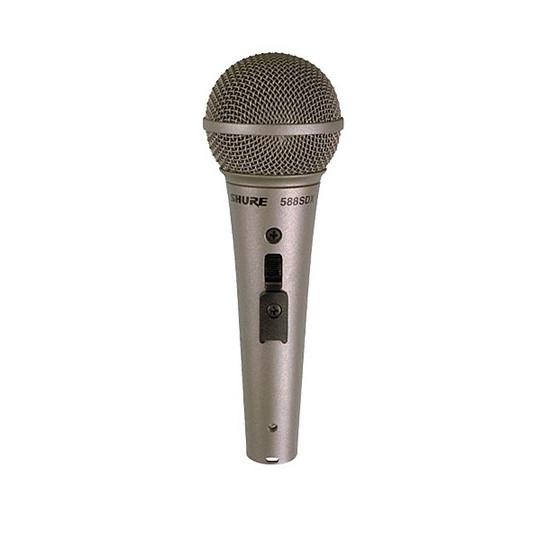 SHURE 588SDX - dynamický mikrofon řeč/zpěv