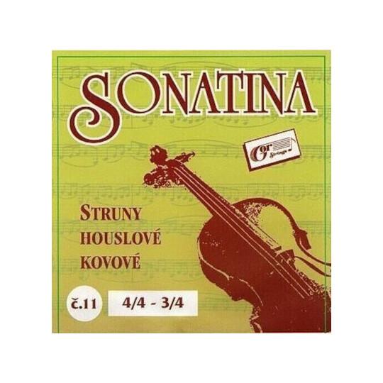 Gorstrings SONATINA č. 11 struny na housle