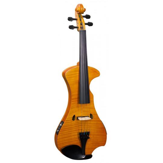 Hidersine Violin Outfit  Electric Flamed Maple Veneer