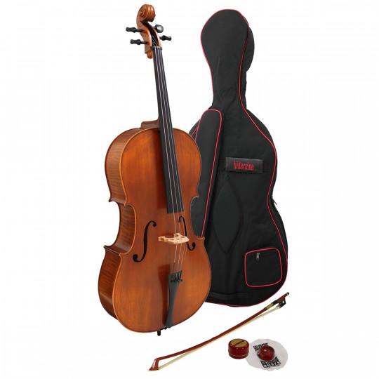 Hidersine Cello Vivente ½ Outfit with Graphic Flame