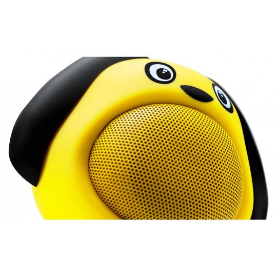 iCutes Bluetooth reproduktor žlutý pes